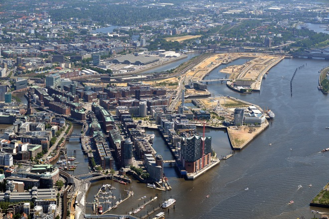 Hamburg is growing here: HafenCity – Europe's largest inner-city development project – is a blueprint for a new European city on the waterfront