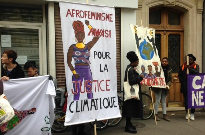 afrofeminisme climate sign