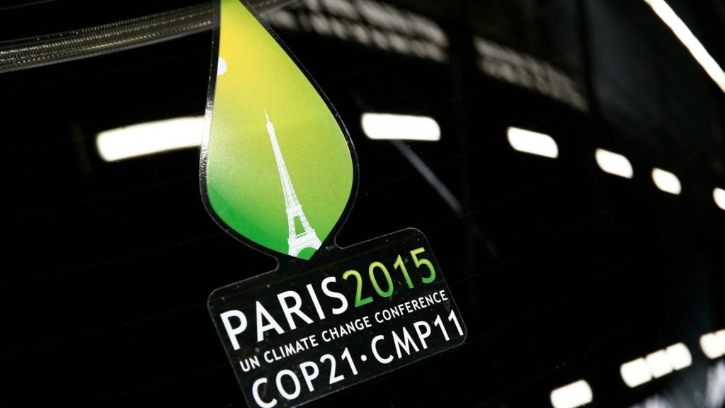 Paris COP21 logo
