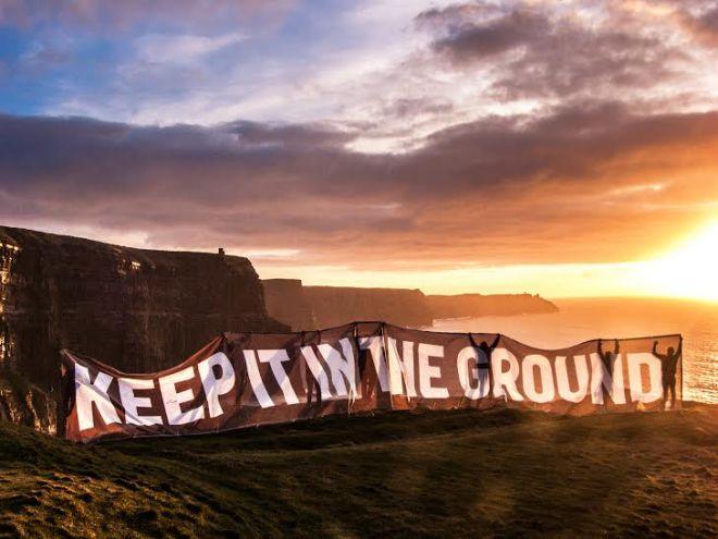 Ireland protest