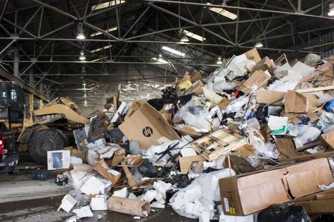 Jenny Odell Recology Trash pile