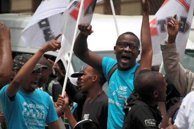 Johannesburg march