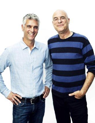 Andy Levitt and Mark Bittman