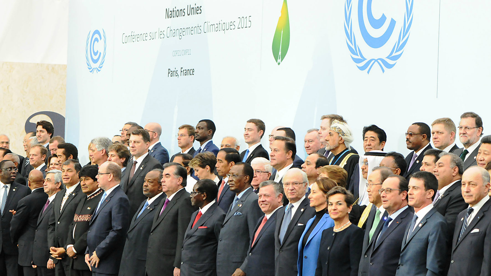 Heads of state at COP21