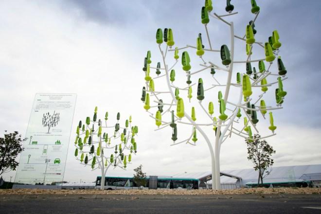 les arbres à vent: wind trees