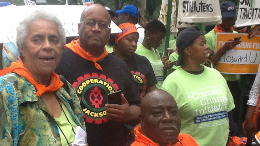 NAACP climate marchers