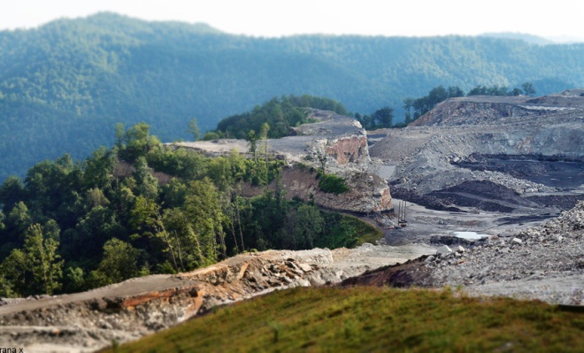 Mountaintop removal.