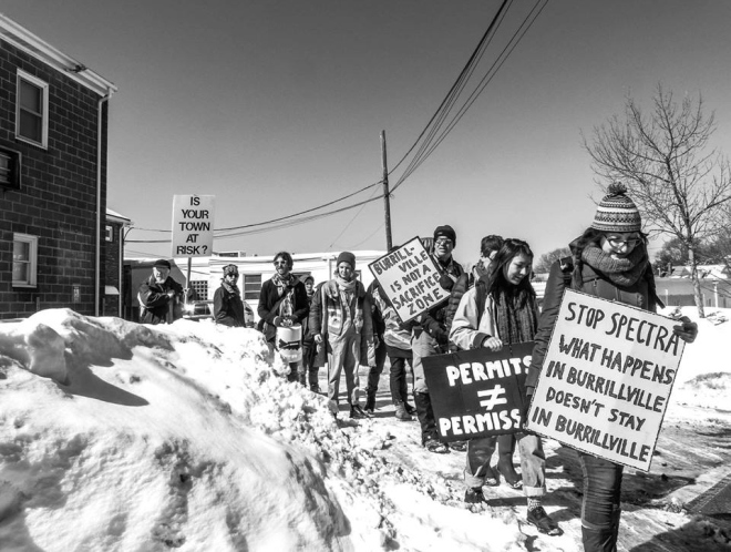 FANG activists in Burrillville, R.I.