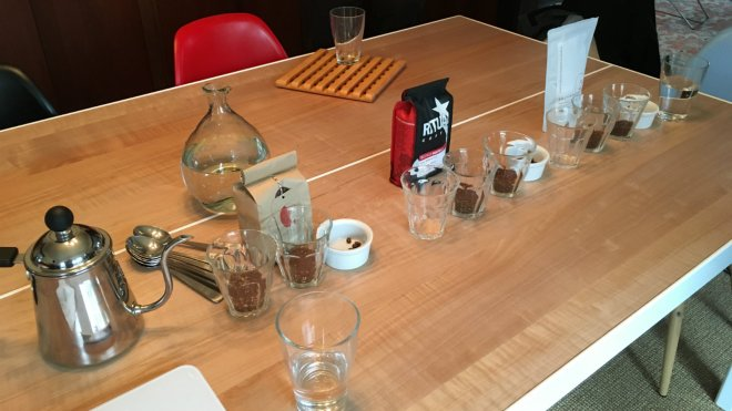 cupping - coffee
