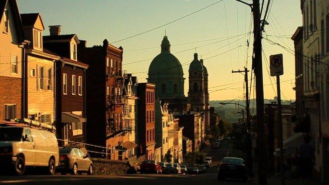 Polish Hill, a neighborhood in Pittsburgh.