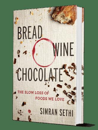 bread wine chocolate book