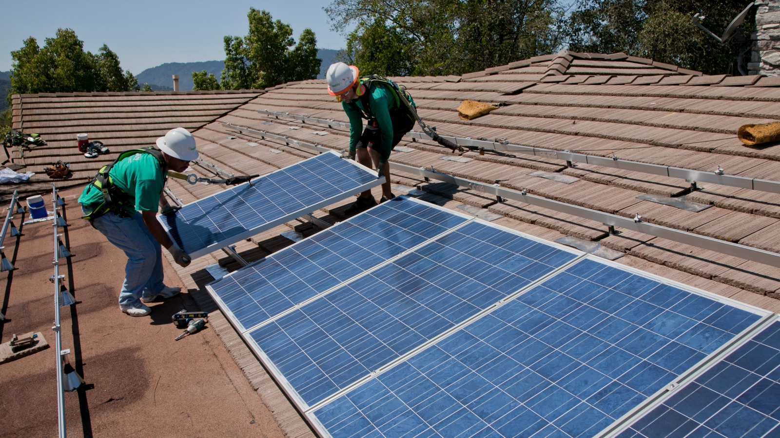 california rooftop solar