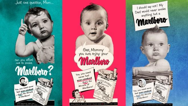 cigarette babies ad