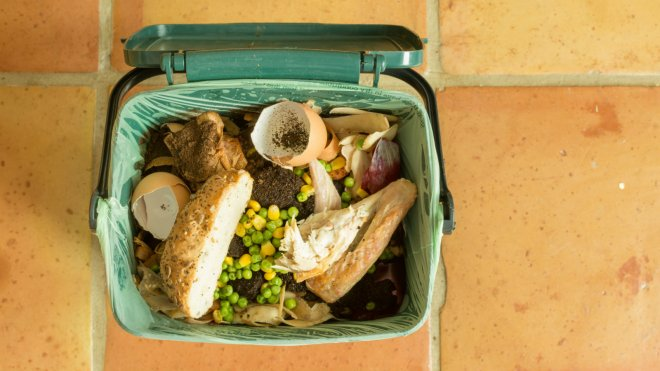 food waste compost bin