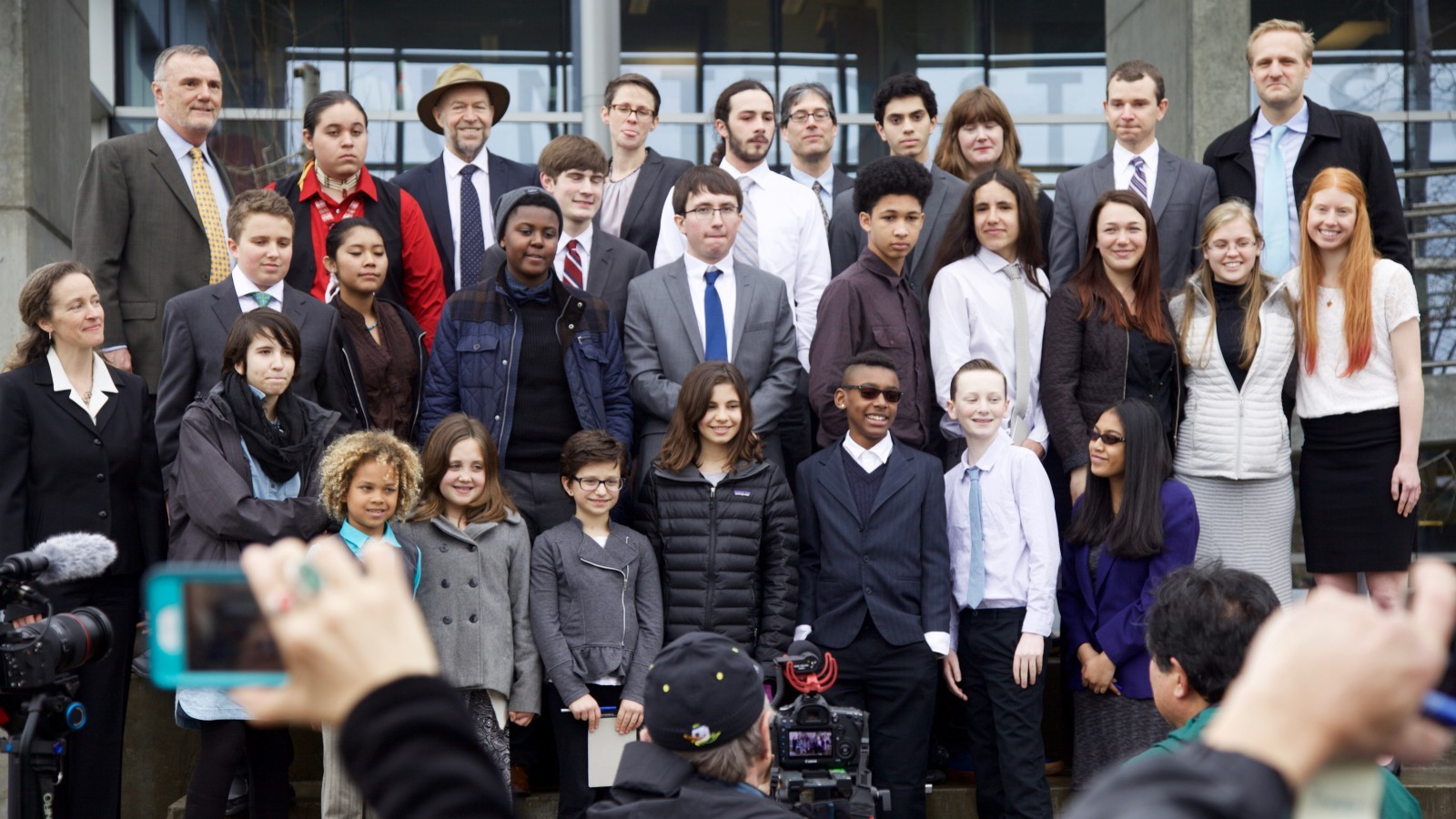 21 youth plaintiffs in Eugene, Ore.