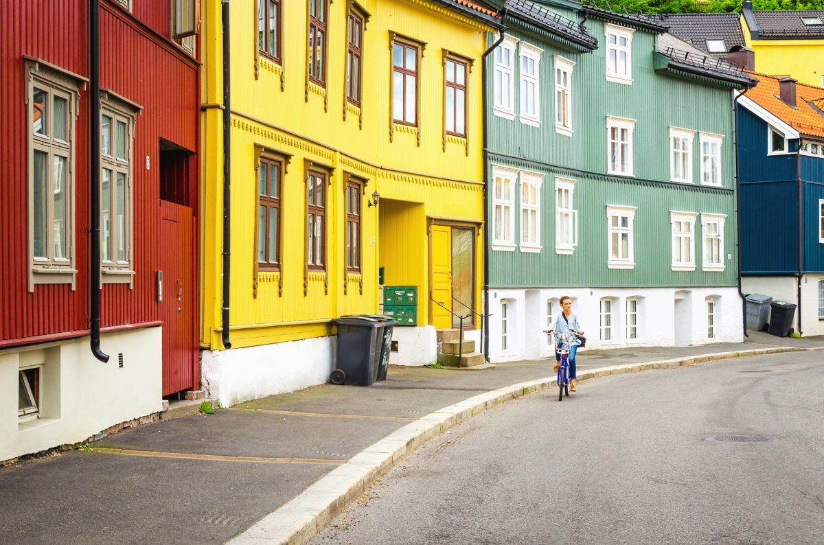 Norway is building a billion-dollar bicycle superhighway