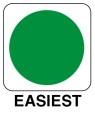 Ski symbol Easiest