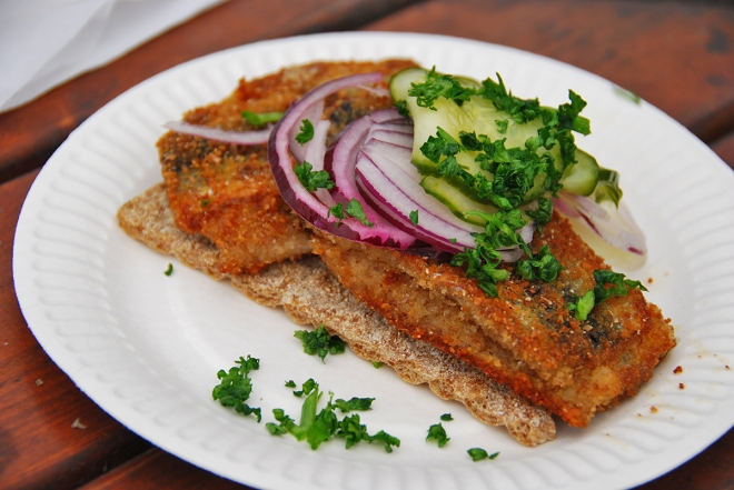 fried herring strömming