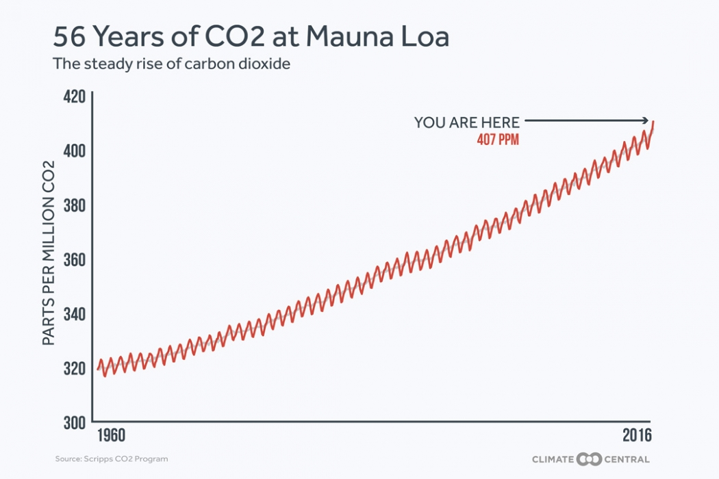 Mauna Loa CO2 measurements
