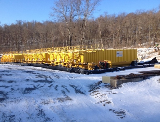 In 2015, Ohio officials shut down an illegal waste facility operated by Anchor Drilling Fluids USA, Inc. More than 20 tanks were found on site, which stored mud and other wastes from fracking.
