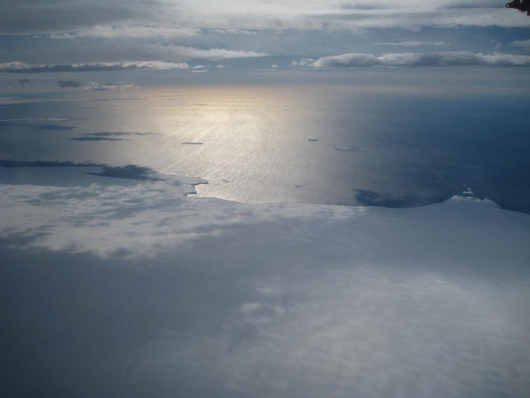 The Bellingshausen Coast in West Antarctica.