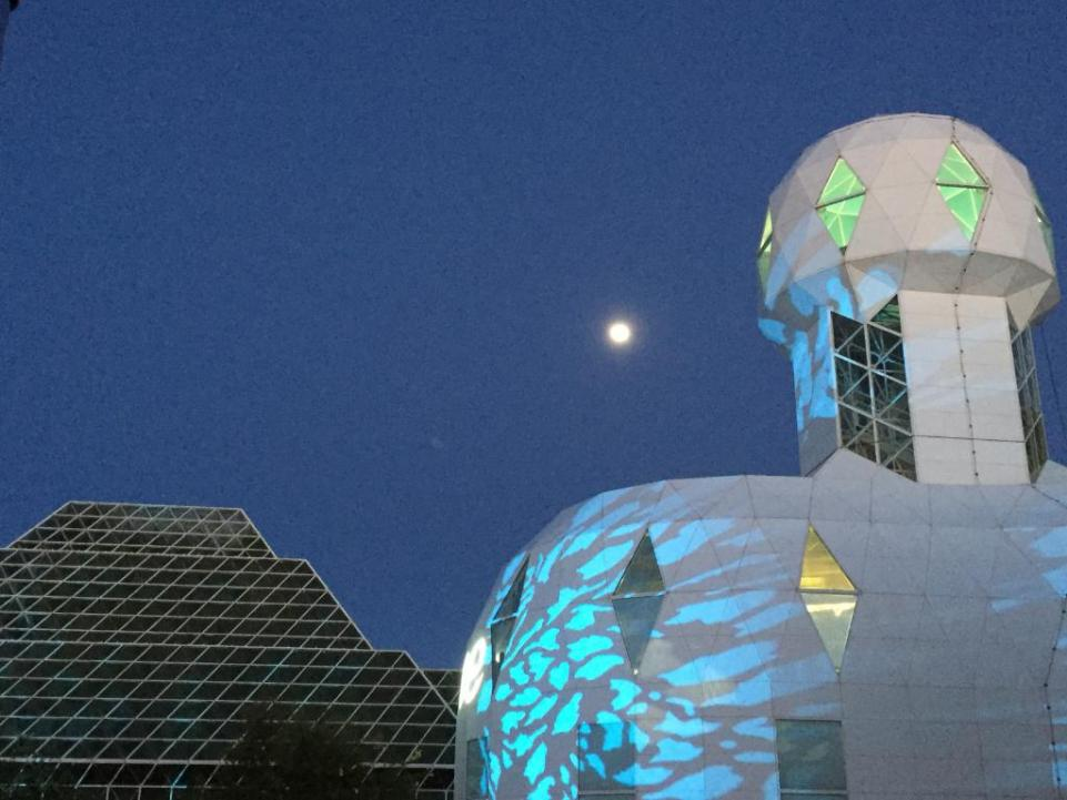 The Biosphere 2 outside of Tucson was an attempt to build a self-sustaining, earth-like environment.