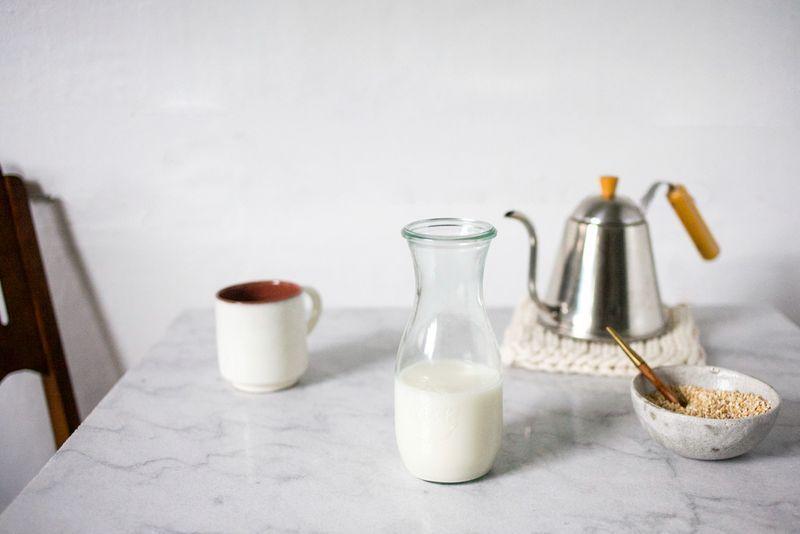 milk setup