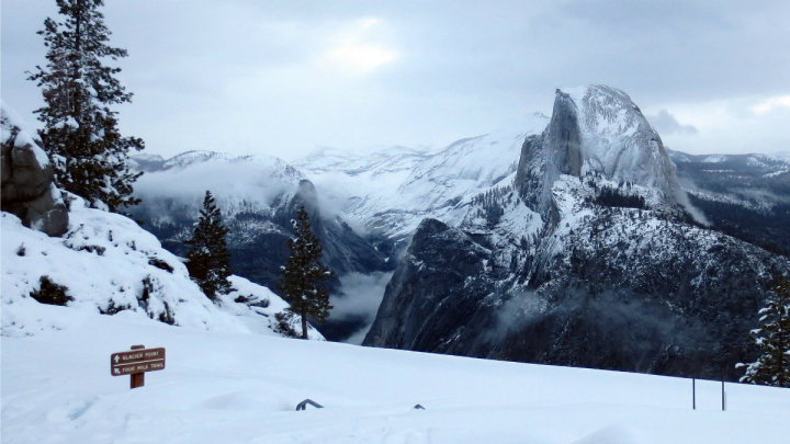 The snow that coated the mountains of northern California in the March has all but melted away.