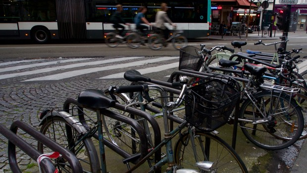 By 2020, Paris will double its bike lanes, from 435 to 870 miles.