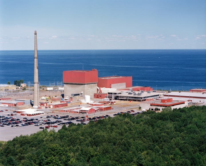The James A. Fitzpatrick Nuclear Power Plant in Upstate New York.