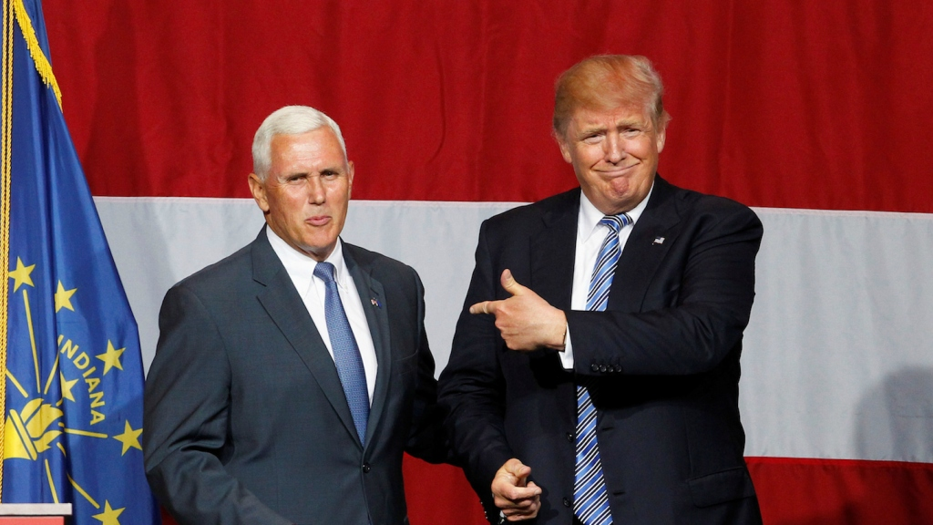Mike Pence S Loose Grip On Reality Is Almost As Bad As Trump S Grist