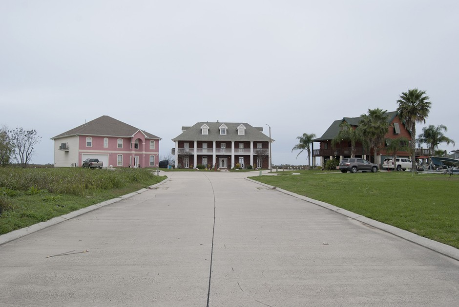 Venetian Isles Subdivision, New Orleans East, Louisiana.