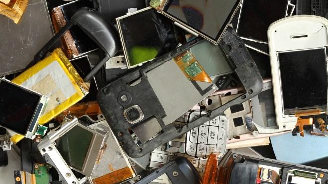 phone scraps