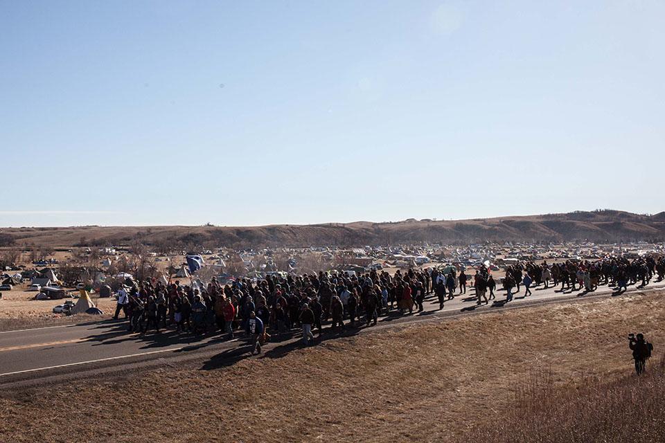 Dakota Access protestors