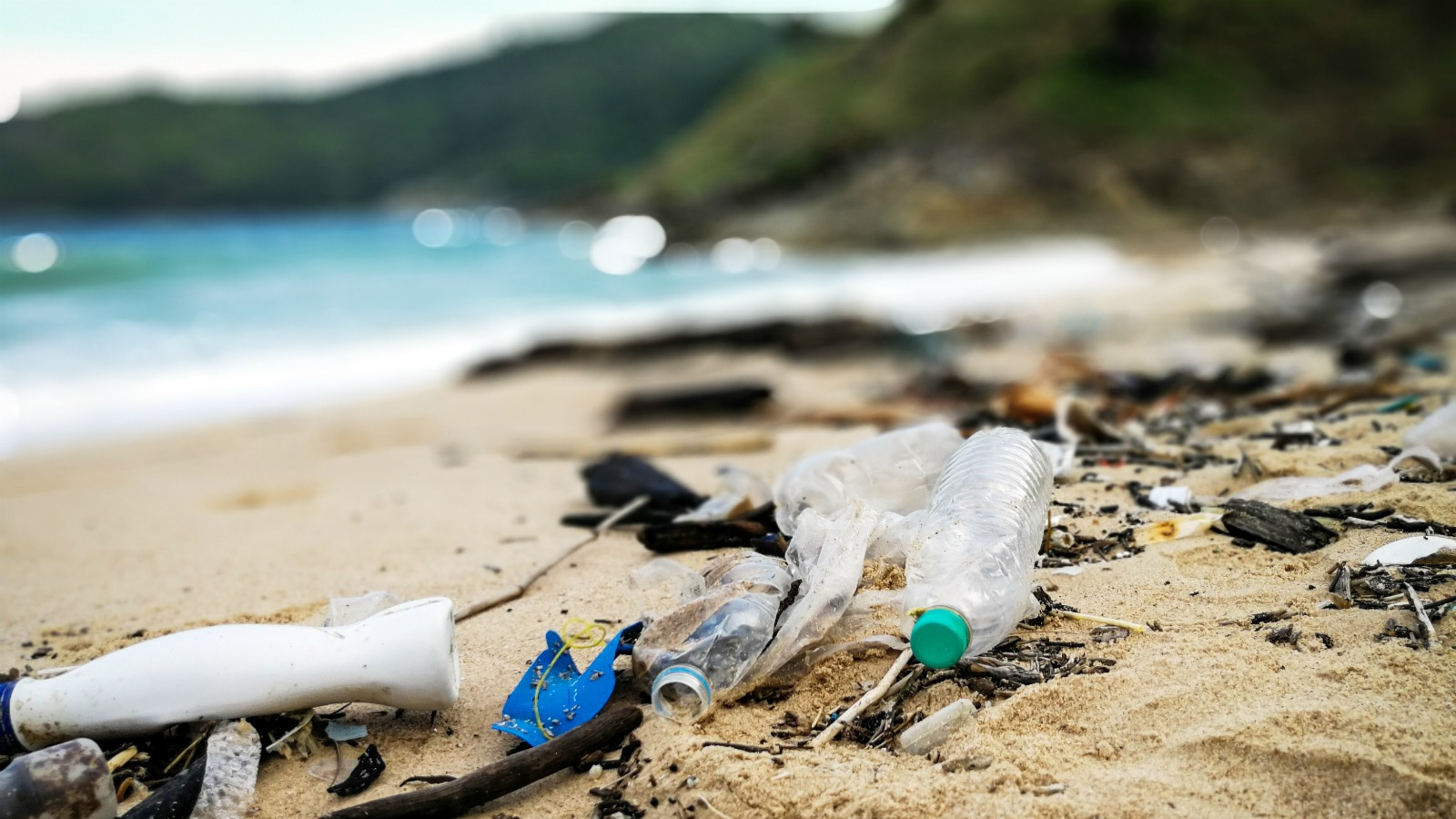 turning ocean trash into running shoes
