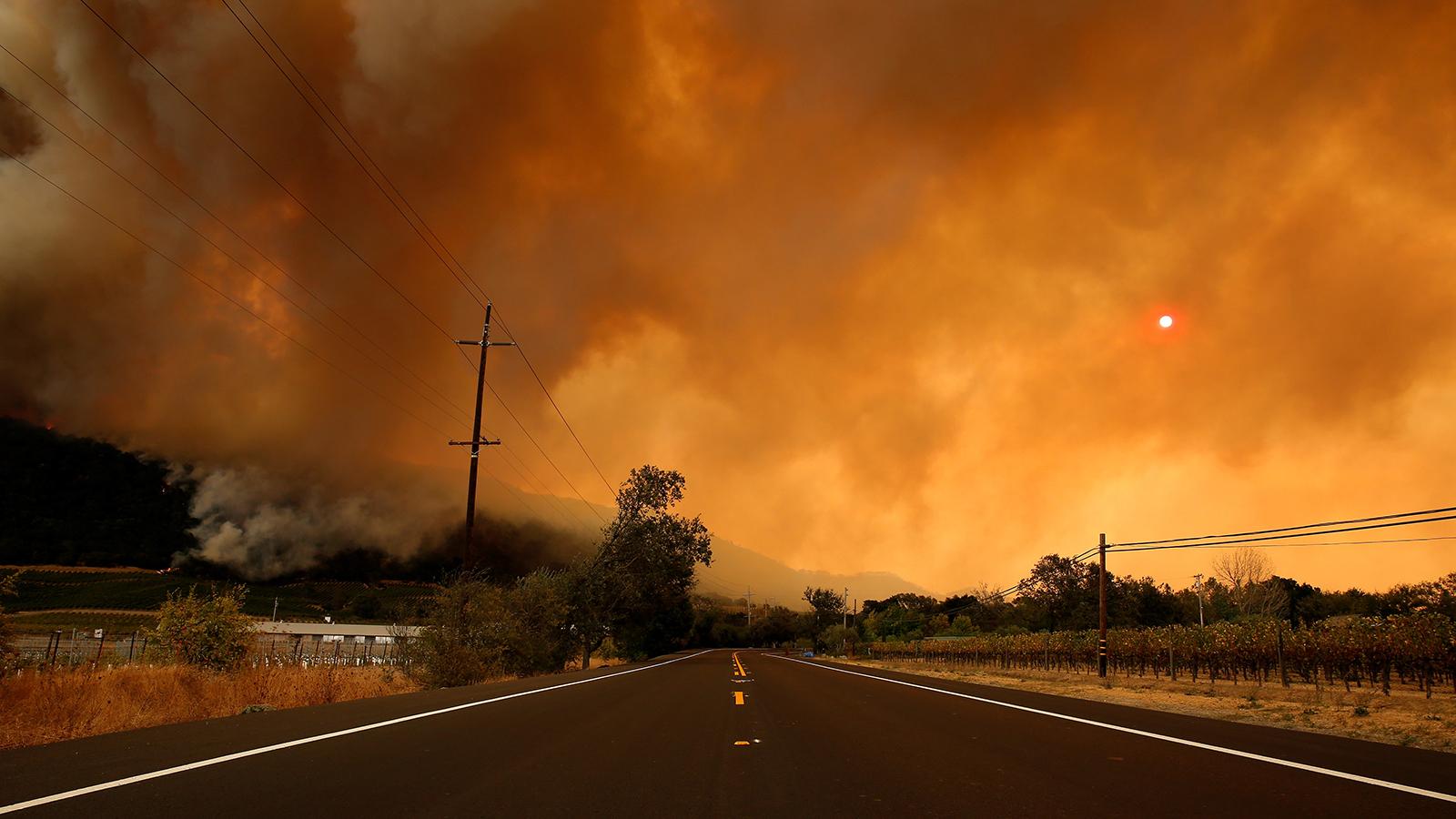 Western Wildfire Smoke Leads To Hazy East Coast Skies