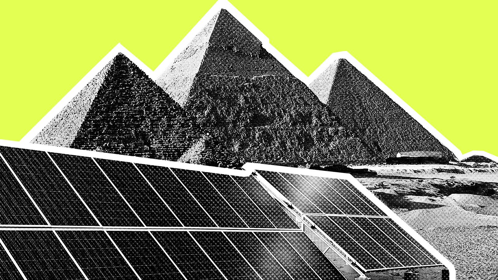Egypt is building a huge solar farm in the desert