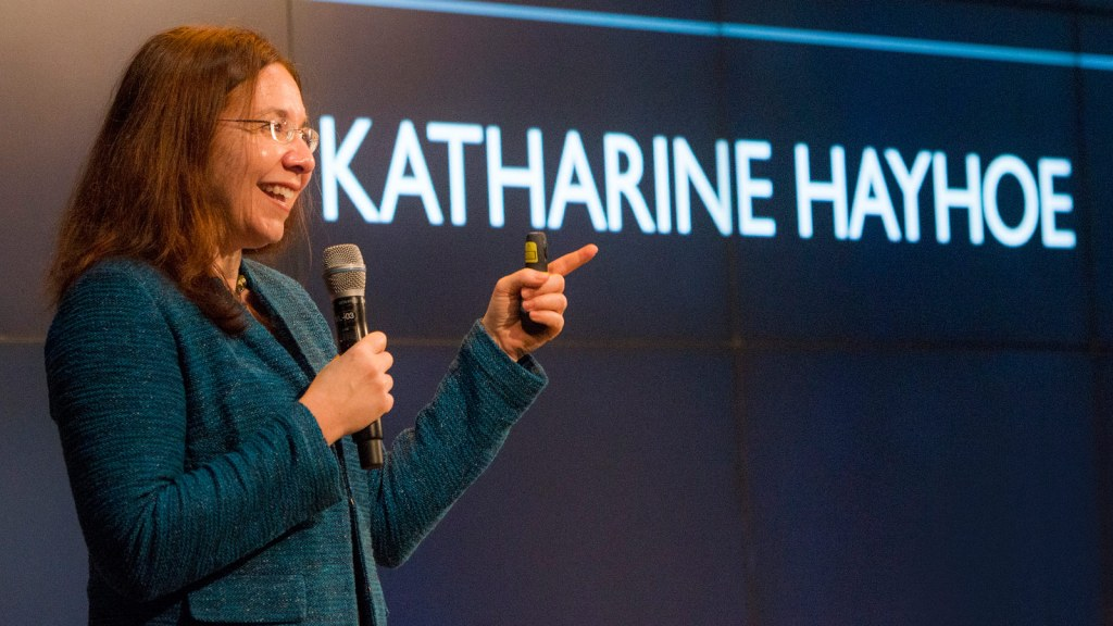 1,656 pages too long? Climate report coauthor Katharine Hayhoe has 3  takeaways.