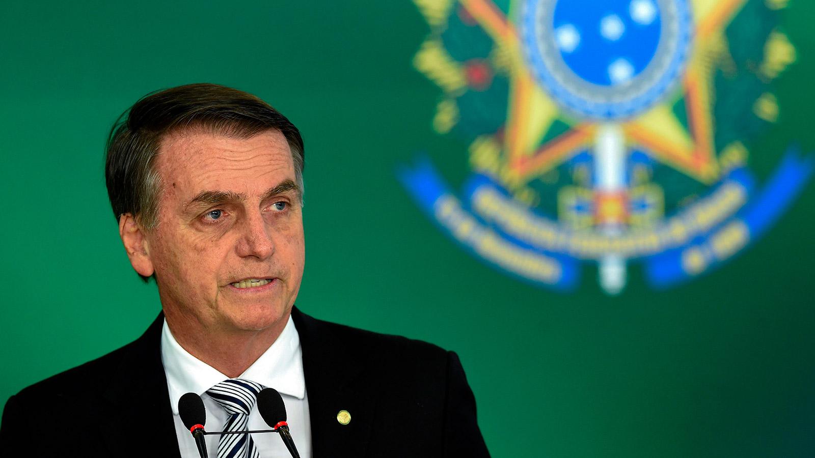 Brazilian president-elect Jair Bolsonaro