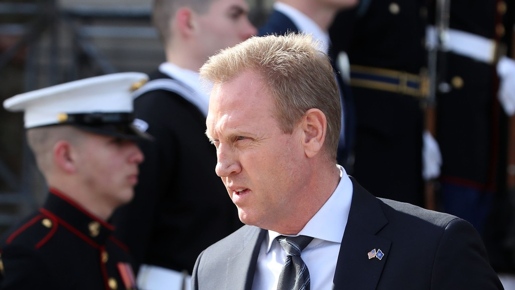 Acting Defense Secretary Patrick Shanahan.