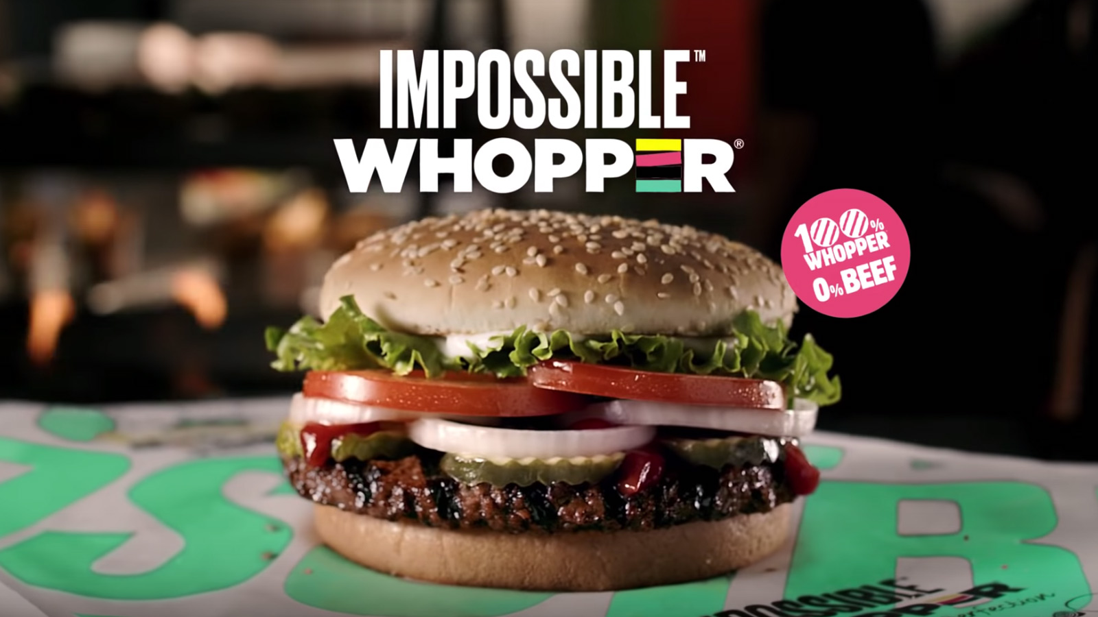 Imossible Whopper