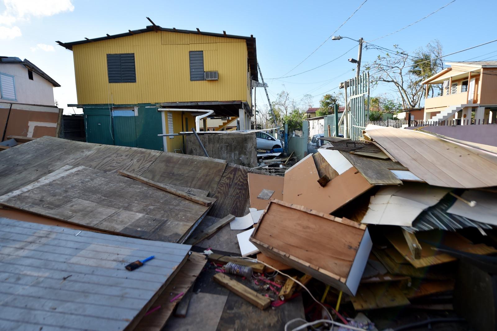 puerto rico destruction hurricane maria