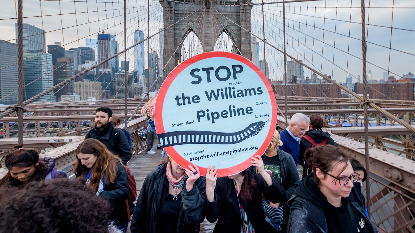 Williams Pipeline Protest New York