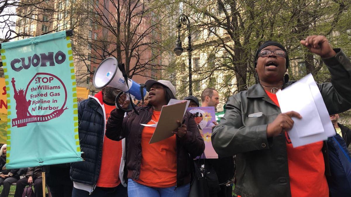 Williams Pipeline Protest