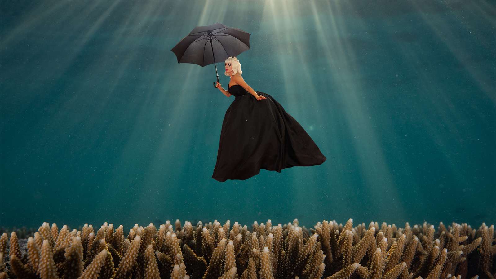 Featured image of Lady Gaga Underwater