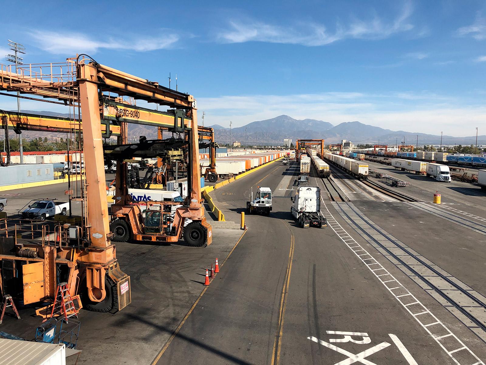 BNSF Railyard San Bernardino
