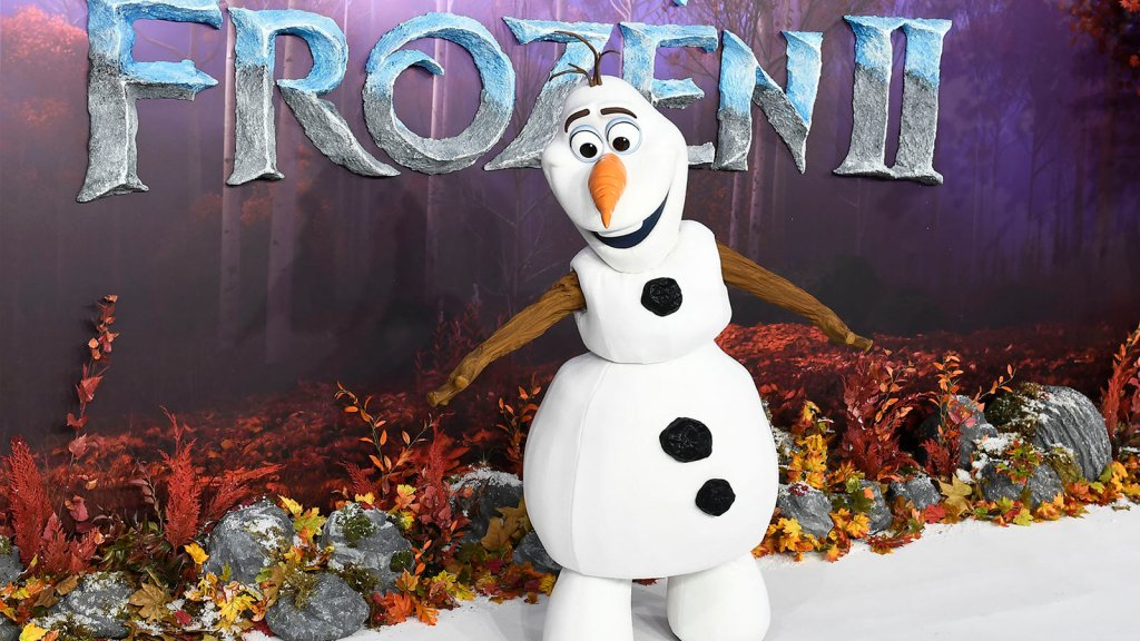 "The European premiere of ""Frozen 2"""