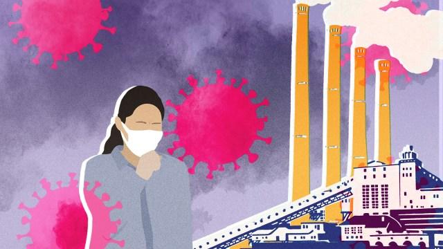 coronavirus pollution
