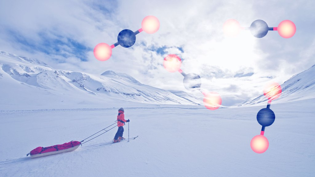 How to collect climate data during coronavirus? Strap on your skis.