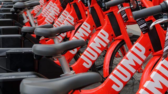 Jump e-bikes in Rome